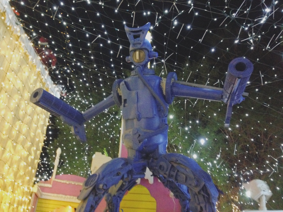 Robolights Art Installation / Holiday Lights – Palm Springs