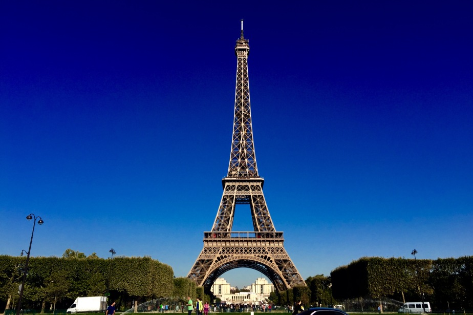 Paris. Paris. Paris.